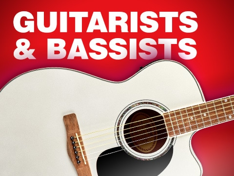 Guitarists and Bassists