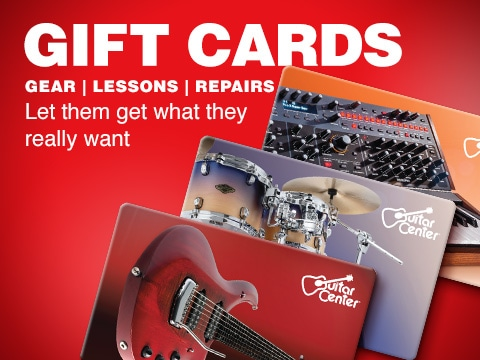 Gift Cards. Let them get what they really want - good toward gear, lessons and repairs
