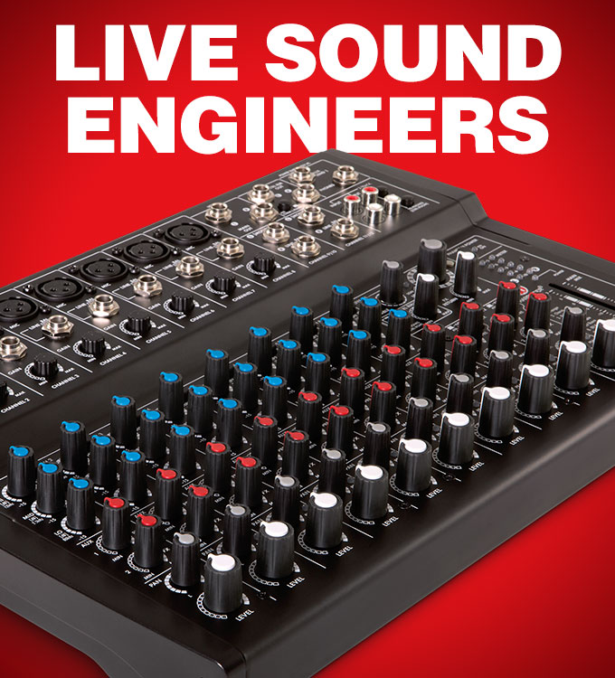 Live Sound Engineers