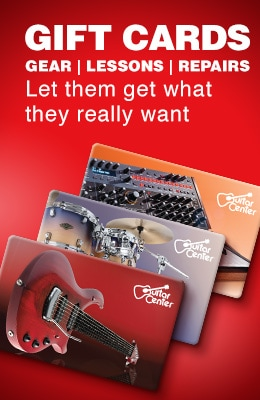 Gift Cards. Let them get what they really want - good toward gear, lessons and repairss