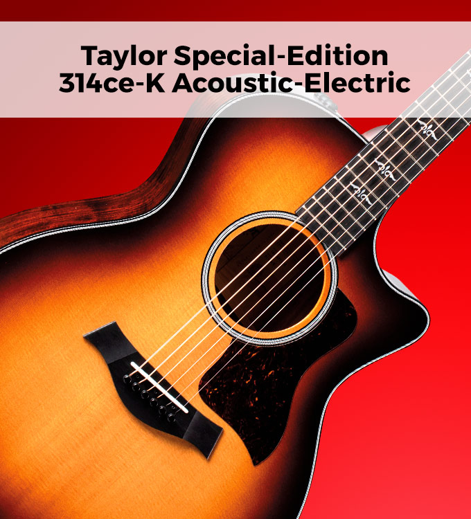 Taylor special edition 314ce-K acoustic-electric