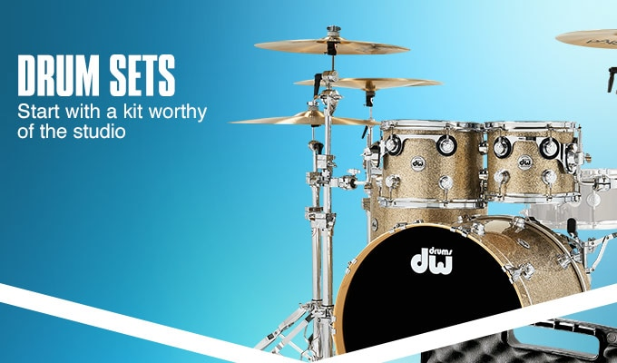 Drum Set. Start with a kit worthy of the studio.