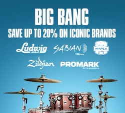 Big bang. Save up to 20 percent on iconic brands. Ludwig, Sabian, Mapex, Zildjian Pro Mark.