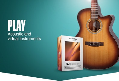 Play. Acoustic and virtual instruments.