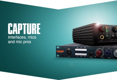 Capture. Interfaces, mics and mic pres.
