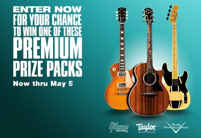 Enter now for your chance to win one of these premium prize packs. Now thru May 5.