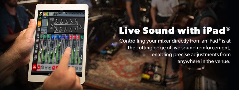 Live Sound with iPad