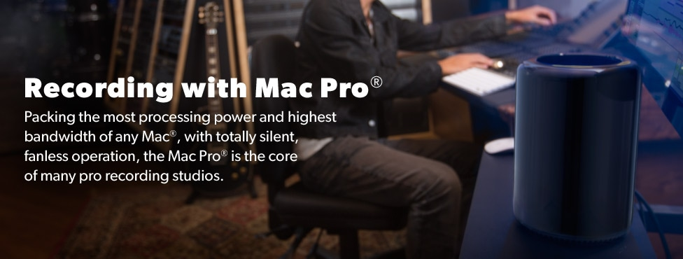 Recording with Mac Pro