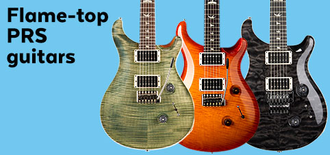 Flame Top PRS Guitars
