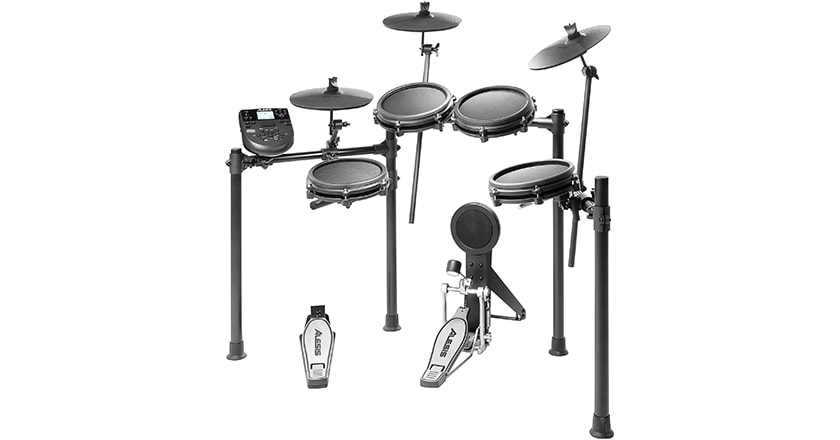 Alesis Nitro Mesh Head Electronic Drum Layout