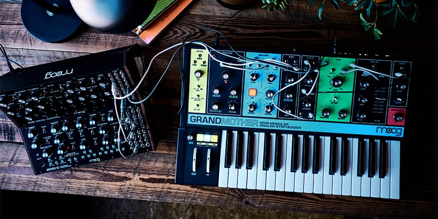 Moog Grandmother Semi-Modular Synthesizer