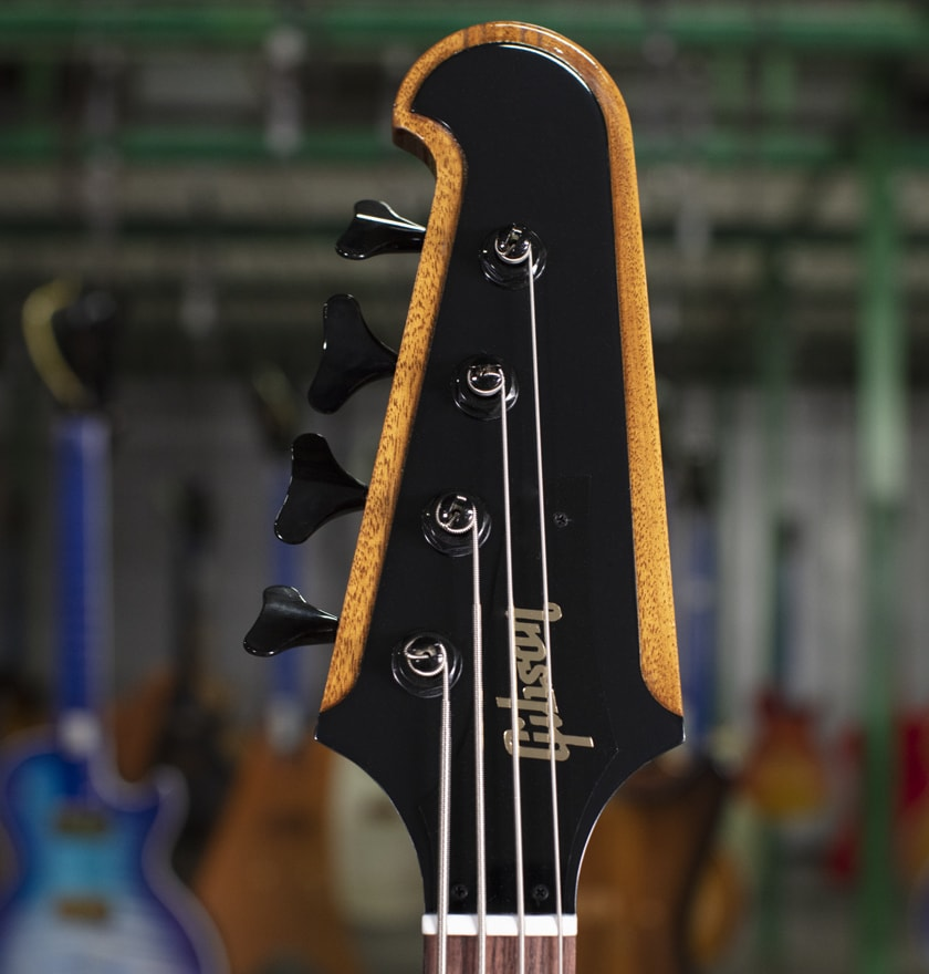 Gibson Thunderbird bass headstock and tuners