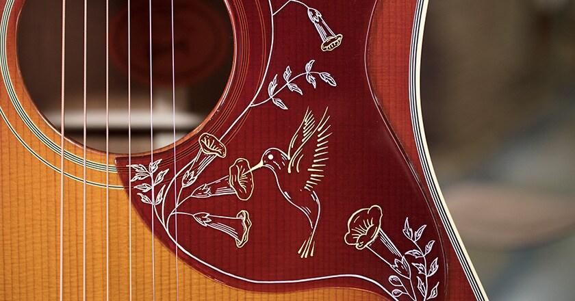 Hummingbird Vintage Limited Acoustic-Electric Guitar Heritage Cherry  Sunburst