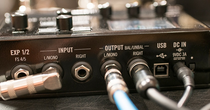 The HX Stomp's controls are powerful and easy to use.