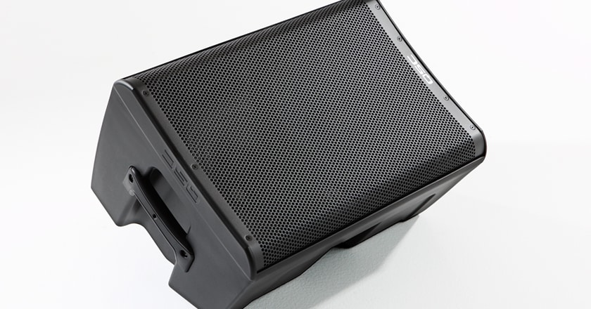 QSC CP8 8 inch speaker as a floor monitor