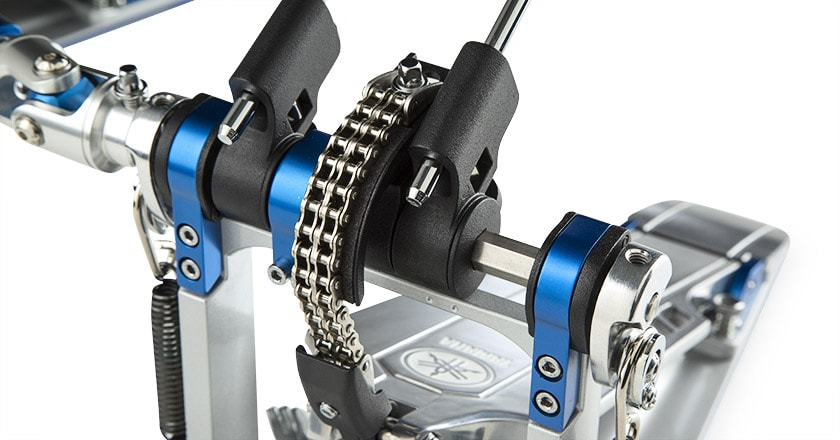 Yamaha DFP9CL Left-Footed Double-Chain Drive Double Pedal Double Chain and Bearings