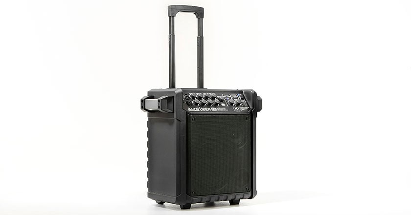 Alto Uber FX battery-powered speaker with built-in battery and Bluetooth
