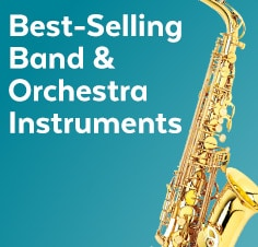 Best-Selling band and orchestra instruments