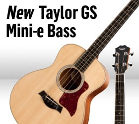New Taylor GS Mini-e Bass
