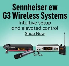 Sennheiser G3 Wireless Systems