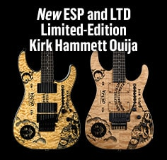 New ESP and LTD Limited-Edition Kirk Hammet Ouija