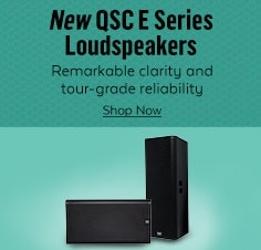 QSC E Series Loudspeakers