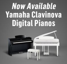 Yamaha Clarinova Digital Pianos Now Available
