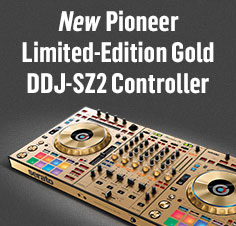 New Limited Edition Gold DDJ-SZ2 Conrollers