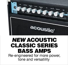 Acoustic Classic Bass Amps