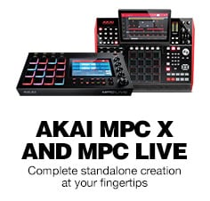 Akai MPC Live and MPC X