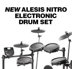 New Alesis Nitro Electronic Drum Set