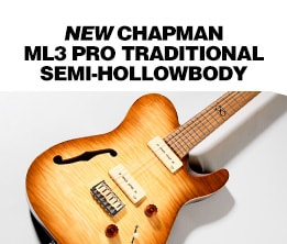 Chapman ML3 Pro Traditional Semi Hollow Electric Guitar