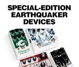 Earthquaker Devices Limited Edition Effects Pedals