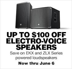 Electro-voice EKX and ZLK Speakers