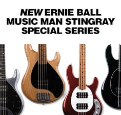 Ernie Ball Music Man StingRay Special