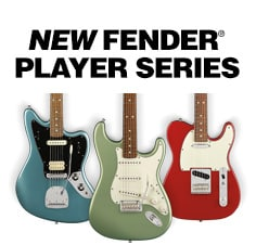 Fender Player Series Guitars and Basses