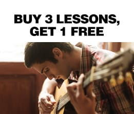 Buy 3 Lessons, Get 1 Free