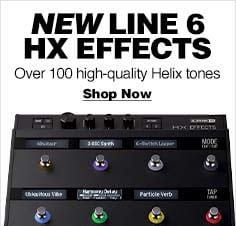 Line 6 HX Effects Guitar Pedal