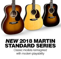 2018 Martin Acoustic Guitars