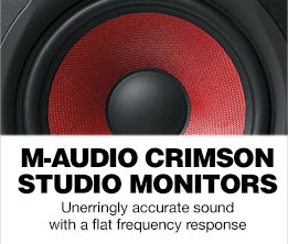 M-Audio BX Crimson Studio Monitors