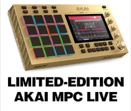 LIMITED-EDITION AKAI MPC LIVE