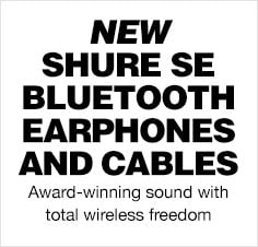 Shure Blutooth Earphones