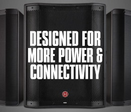 Designed for more power & connectivity.