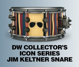 DW Collector's Icon Series Jim Keltner Snare