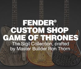 Fender® Custom Shop Game of Thrones. The Sigil Collection, crafted by Master Builder Ron Thorn