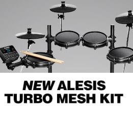 New Alesis Turbo Mesh Kit