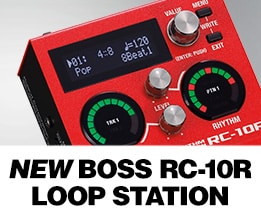 New Boss RC-10R Loop Station