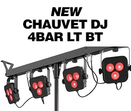 New Chauvet DJ 4Bar LT BT