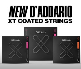 New D'Addario XT Coated Strings