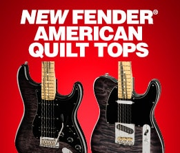 New Fender American Quilt tops